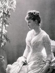 Великая Княгиня Елизавета Феодоровна. Июль 1887 г.