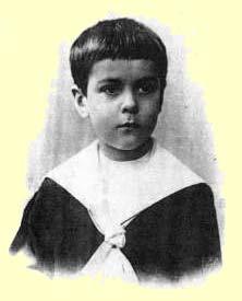 Владимир Палей в детстве